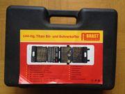 Bohrerkoffer 144-teilig Titan Bits Werkzeuge