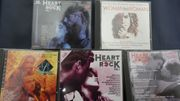 CD s Heart and Rock