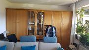 Wohnwand mit Schrankbett