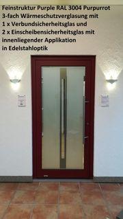 Aluminium-Haustür Ausstellungsstück Nr 14