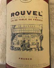 Französischer Rotwein Rouvell