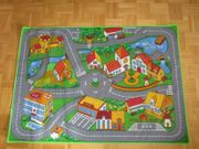 Spielzeugteppich Autoteppich Teppich fürs Kinderzimmer