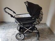 Emmaljunga Kinderwagen mit Babywanne und