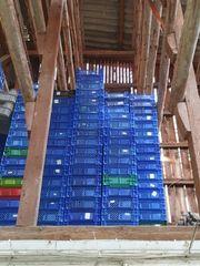 Kleine Blaue Verpackungskisten