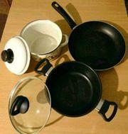 Kochutensilien Küchenutensilien Kochtopf Töpfe Pfanne