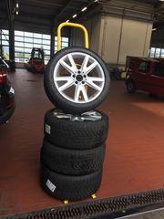 Komplettsatz Winterreifen auf Alufelge Mercedes