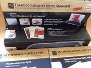 Thermobindegerät A4 mit Starterkit und