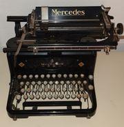 Alte Schreibmaschinen - Mercedes Privileg