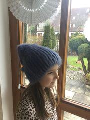 Schicke Mütze aus echten Fell