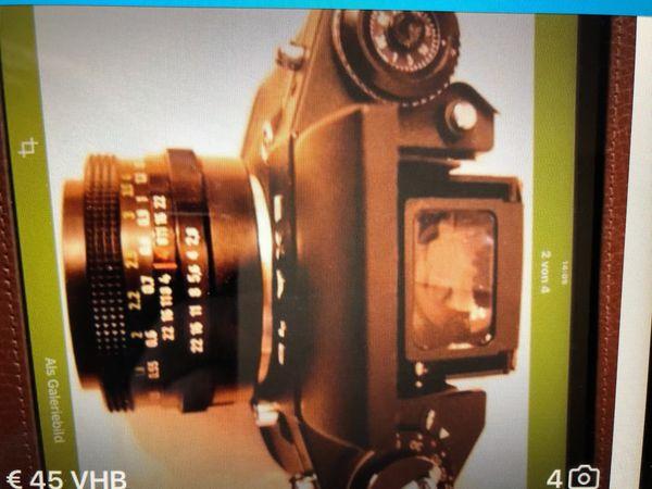 EXA1a Spiegelreflexkamera -Kamera