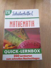 Schülerhilfe Quick Lernbox Mathematik Neu