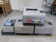 3 Color Laserprinter Samsung CLP-300