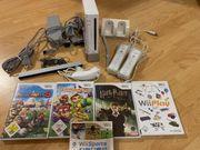 Wii Konsole 5 Spiele