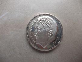 Münzen - Versilberte Medaille A H