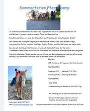 Pferdereitcamp am Bauernhof in gaißau