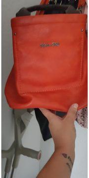 Sophie Delli Echt Leder Handtasche