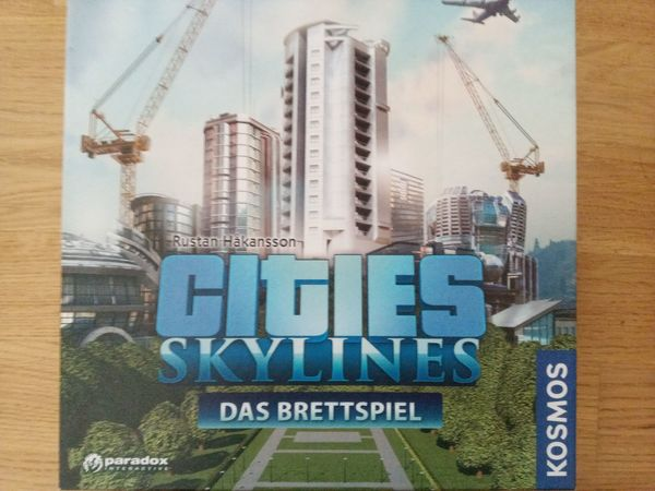 Gesellschaftsspiel CITIES SKYLINES 10 Jahre