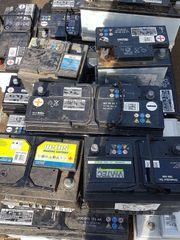 Altbatterien Ankauf von KFZ LKW