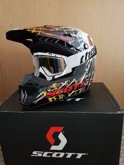 SCOTT 250 BIKER Motorradhelm Helm
