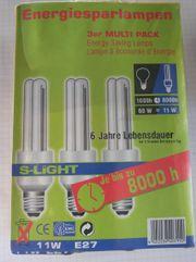 Energiesparlampe E27 11 Watt
