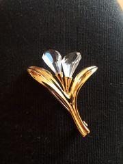 Original Swarowski Vintage Brosche Kristall