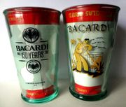 Bacardi Sammler Glas zum 150