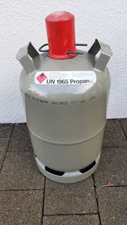 11kg Gasflasche befüllt