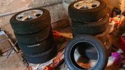 6 Pirelli-Autoreifen auf ENZO-Alufelgen 185