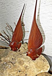 Fisch Holz Deko Dekofisch Holzfisch