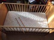 Buche-Kinderbett 70 x 140 cm