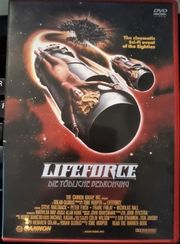 LIFEFORCE DVD SPACE ACTION