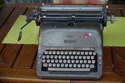 Mechanische ADLER Schreibmaschine - gut 50