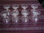 WMF 8 x Biergläser Kristallglas