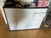 Sideboard Schwarz Weiß