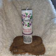 Taufkerze Patenkerzen rustikale Kerzen Handarbeit