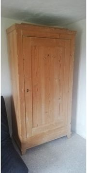Naturholzschrank - Kleiderschrank