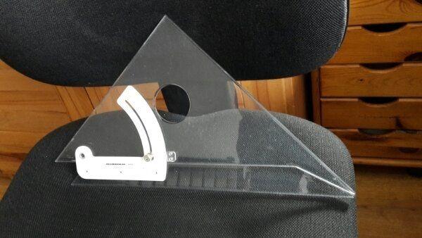 Verstellbarer Winkel Winkelverstellbares Dreieck