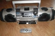 Elta Stereo-Radio-Cassette-Recorder mit Compact-Disc-Player-CD