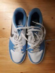 NIKE Backboard Hellblau Sneaker Gr