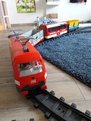 Playmobil Eisenbahn 4010 mit viel