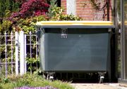 1 100l Abfall Container gelbe