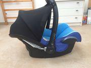 MaxiCosi Cabriofix Babyschale blau gebraucht