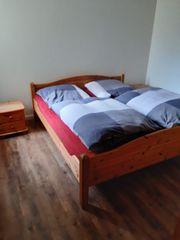 Komplettes Schlafzimmer Kiefer gelaugt massiv