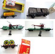 Geschlossene Güterwagen H0 Eisenbahn Spezialwagen
