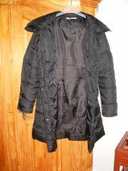 Modischer Damen- Mantel Schwarz Gr