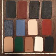Leder Hüllen für Smartphones