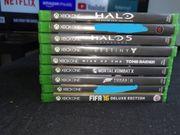 Xbox One Games 7 Stück