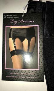 Strapsgürtel im sexy WET-Look LEG