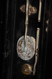 Historisches antikes Akkordeon Sammlerstück