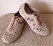 RIEKER Antistress Leder Sneaker Schuhe